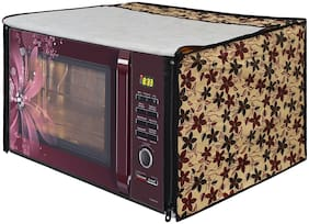 Glassiano Microwave Oven Cover for LG 32 Litre Convection Microwave Oven MC3286BRUM