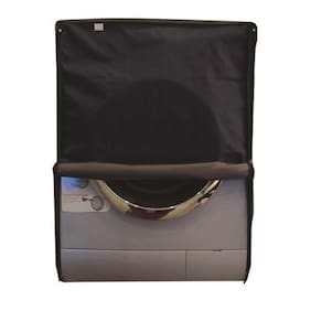 Glassiano Navy Blue Waterproof & Dustproof Washing Machine Cover For Front Load IFB Senorita Smart 6.5 kg, Washing Machine