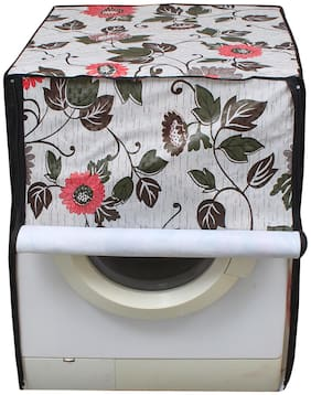Glassiano Printed Coloured Waterproof & Dustproof Washing Machine Cover For Front Load LG F12B8EDP21 7.5 kg