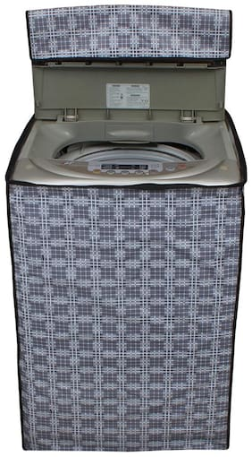 Glassiano Printed Washing Machine Cover For Samsung WA90J5710SG Fully Automatic Top Load 9 kg