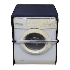 Glassiano Transparent Washing Machine Cover For Samsung 6 kg WF600B0BTWQ Fully Automatic Front Loading Washing Machine