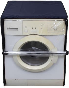 Glassiano Transparent Washing Machine Cover For IFB Executive Plus VX 8.5 kg Fully Automatic Front Loading Washing Machine