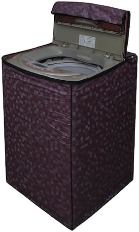 Glassiano Washing Machine Cover For Fully Automatic Top Load Samsung WA62H4200HB 6.2 kg Washing Machine