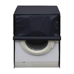 Glassiano waterproof and dustproof Dark Grey washing machine cover for LG F1296WDL23 Fully Automatic Washing Machine