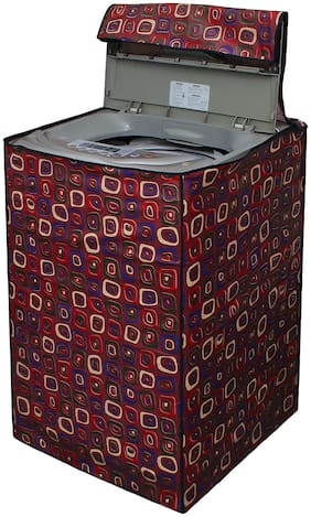 Glassiano Washing Machine Cover For Fully Automatic Top Load Samsung WA65M4100HY/TL 6.5 kg Washing Machine;Sams72