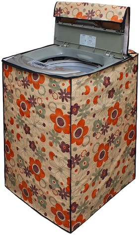 Glassiano Washing Machine Cover For Fully Automatic Top Load Bosch Serie 2 WOE704Y0IN 7 kg Washing Machine;Sams68