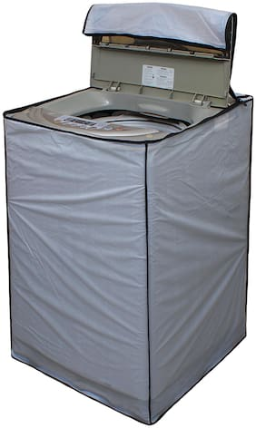 Glassiano Washing Machine Cover For Fully Automatic Top Load HAIER HSW72-789NZP 7.2 kg Washing Machine;DA01