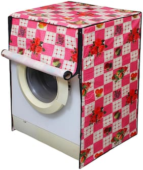 Glassiano Washing Machine Cover for LG FH0G6WDNL42 Fully Automatic Front Load 6.5 kg;DA06