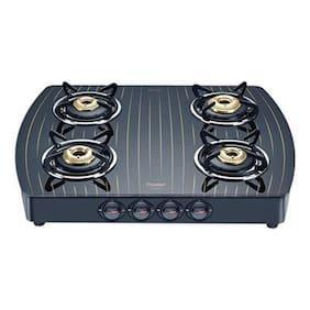 Prestige PREMIA 4 Burners Gas Stove - Black