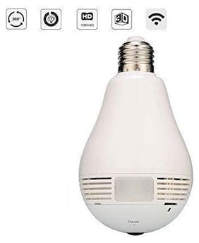 GLE nextthink WiFi Panoramic 360 Degree Camera Wireless Light Fisheye Camera CCTV Smart Home 3D VR Security Bulb WiFi Camera IP cam
