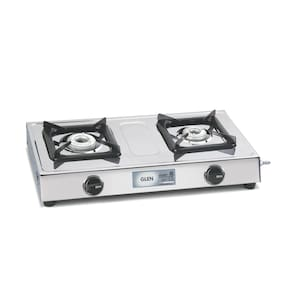Glen Gl-1020-SS 2 Burner Gas Stove Manual Ignition