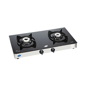Glen 2 Burners Stainless Steel Gas Stove - Assorted