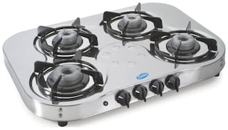 Glen 4 Burners Gas Stove - Assorted , Auto Ignition