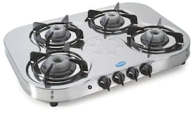Glen 4 Burners Regular Gas Stove - Assorted , Auto Ignition