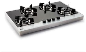 Glen 4 Burner Automatic Hobs Assorted Gas Stove ,
