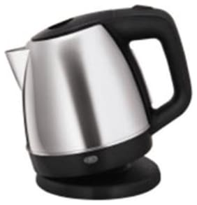 Glen  9008 1 L Electric Kettle (Silver and Black)