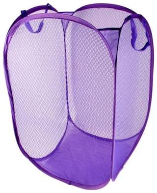 Winberg Nylon Assorted Laundry Basket ( Set of 1 )