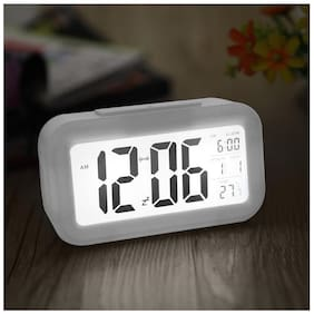 Global  Table Clock Digital Alarm with Sensor On off