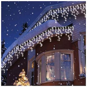 GLOWTRONIX (3Meter)White Colour Frosted  Rice Lights Serial  Decoration Light with Diwali navratra Christmas