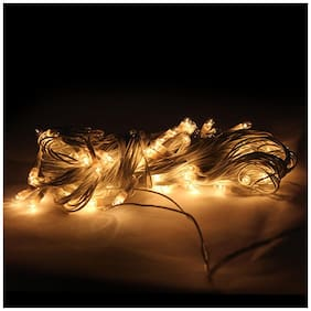 GLOWTRONIX 3 M Long Rice Diwali Lights for Decoration Yellow Color