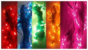 GLOWTRONIX LED Rice String Light Fairy Light Christmas Home Decoration Light;Copper Wire Indoor Outdoor Bedroom Christmas Tree Lights Indoor Outdoor Decoration Fairy Light