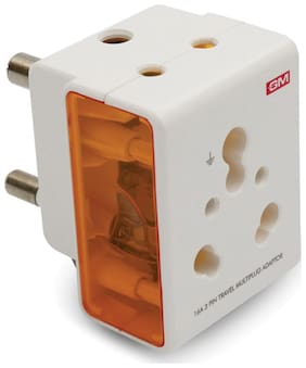 GM 16 Amp 3 Pin Multi Plug Adaptor
