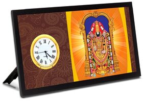 GOD Analog Table Clock for Home / Kitchen / Living Room / Office and Gifting purpose.