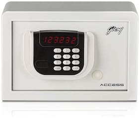 Godrej Digital Mild steel Home Safe ( White , 8 L )