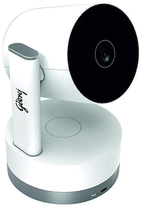 Godrej EVE NX PT - Wi-Fi Home Camera | 360° 2MP 1080p (Full HD) | Two Way Talk Night Vision | Smart Motion Tracking | Up to 128 GB microSD Card Slot