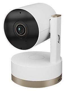 Godrej Spotlight Pan Tilt Smart WiFi Security Camera for Home with 360 Degree 2MP 1080p (Full HD)