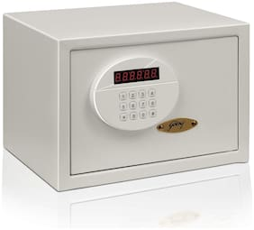 Godrej Digital Mild steel Home Safe ( White , 14 L )