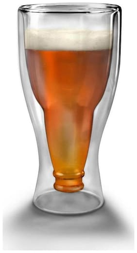 Godskitchen 300ml - Inverted Beer Glass / Double Wall Beer Glass