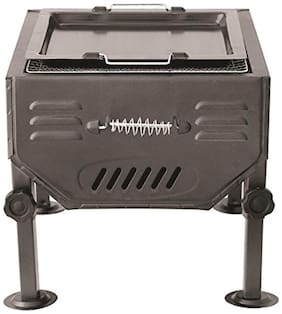 Godskitchen Table Top Barbeque Grill With Stand (Perfect Portable Charcoal Grill)