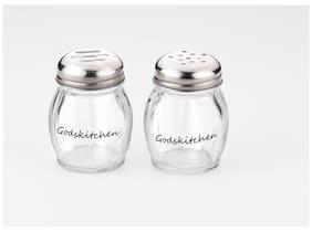 Godskitchen Chilli flakes/Oregano Shaker Set - Set of 2