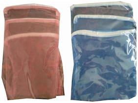Goldcave Net Multipurpose Fridge Storage Zipper Bags For Fruits Vegetables