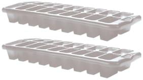 Goldcave Plastic Ice Trays - Set Of 2