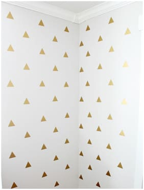 Rawpockets Wall Stickers  ' Golden Triangle '