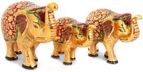 Goodshawk Impex Set Of 3 Elephant For Home Decor