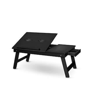 b50d2970e99 Buy Gorevizon Black Foldable Laptop Table (Black) Online at Low ...