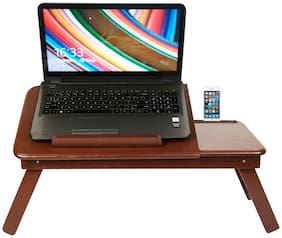 Gorevizon Multifunction Laptop Desk with Mobile Holder (Brown)