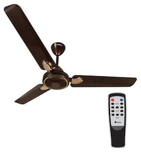 Gorilla Efficio+ Energy Saving 5 Star Rated with Remote Control and BLDC Motor 1200 MM Ceiling Fan- Earth Brown