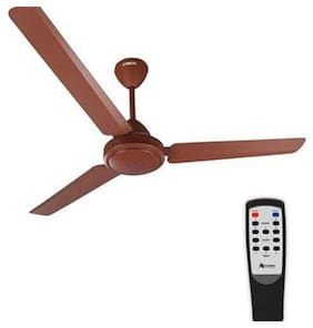 Gorilla EFFICIO ENERGY SAVING 5 STAR RATED WITH REMOTE CONTROL AND BLDC MOTOR 1400 mm Ceiling Fan - Matte Brown