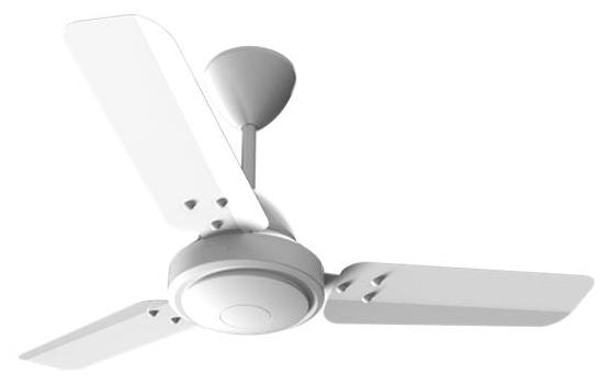 Gorilla E1-900 900 MM 3 Blade Ceiling Fan with Remote (White)