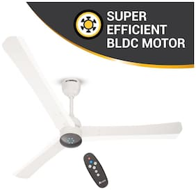 Atomberg Renesa+ with Dust Resistant Coating, Remote Control and BLDC Motor 1200 mm Premium Ceiling Fan ( Pearl white , Pack of 1 )