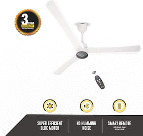 Gorilla Renesa+ with Remote Control and BLDC Motor 1200 MM Ceiling Fan - Pearl White