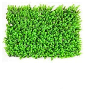 Green Plant Indoor Artificial Wall Grass Mat Natutal Look