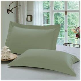 Grey Pillow Cover Set (2 pc)
