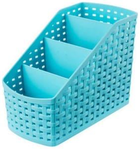 Grid Storage Case Multi-Function Storage Organizer Plastic Storage Box Desktop 4 Grid
