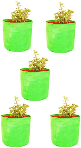 """Grow Bags for terrace gardening ( 12 X 12 """")   Pack of 5 Bags"""