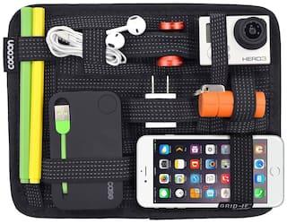GTC Elasticity Grid-It Receiver Plate Bladder Bag Travel Digital Accessories Tool Organizer Pad (056)